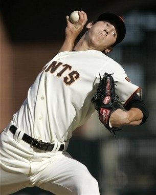 Tim Lincecum has gotten off to a rocky start in 2009 after winning the 2008 NL Cy Young Award.