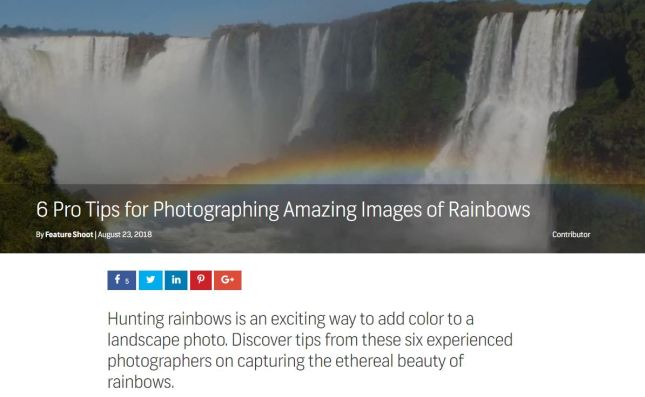 shutterstock rainbow foto tips
