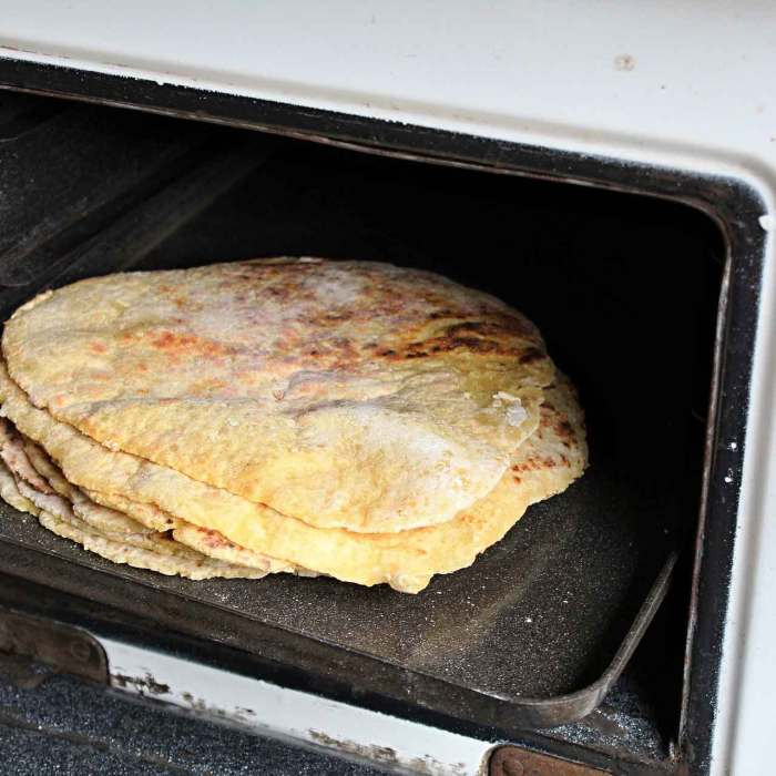 A recipe: UK-style refried beans and homemade corn tortillas