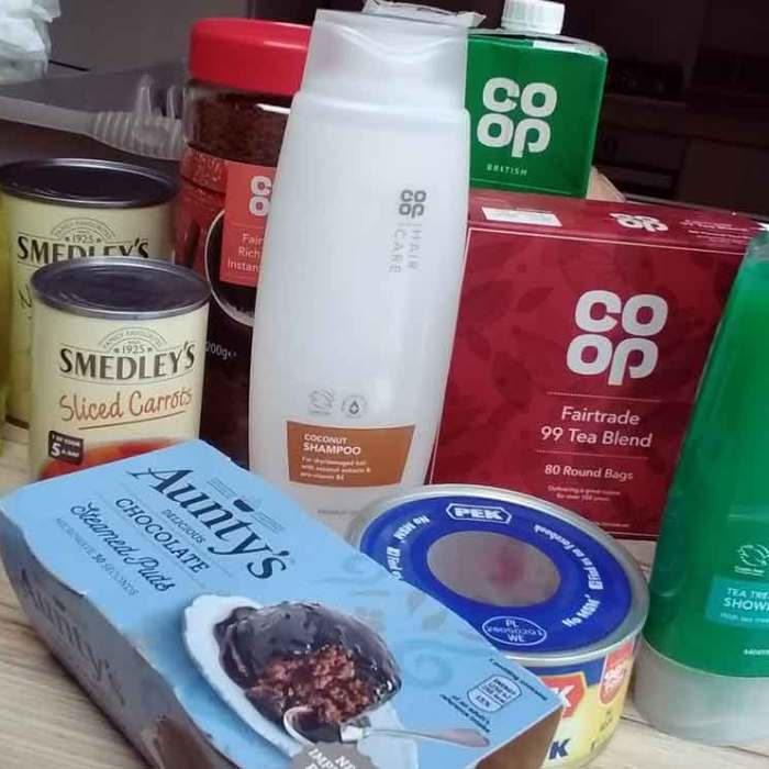 North Bristol Foodbank donations