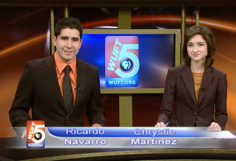 TV Producing Sample: WUFT News First at Five (2011)