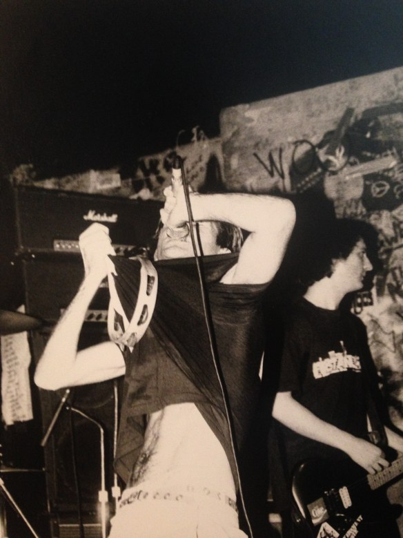 Government Issue at CBGB in '87 or '88.