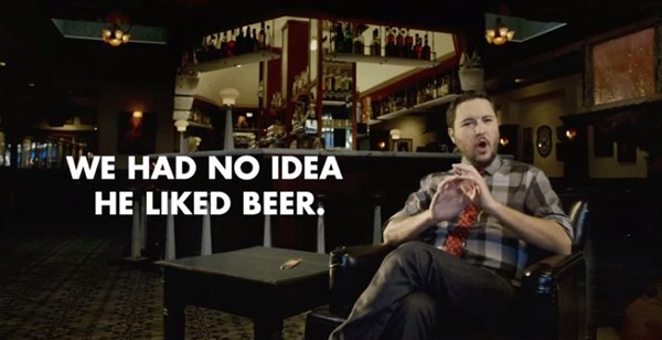 Wil Wheaton Beer ad