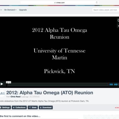 Portfolio: ATO Reunion