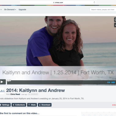 Portfolio: Kaitlynn and Andrew
