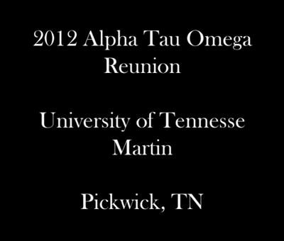 Alpha Tau Omega Reunion