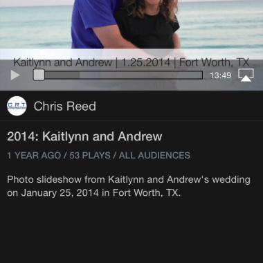 Portfolio: Kaitlynn and Andrew