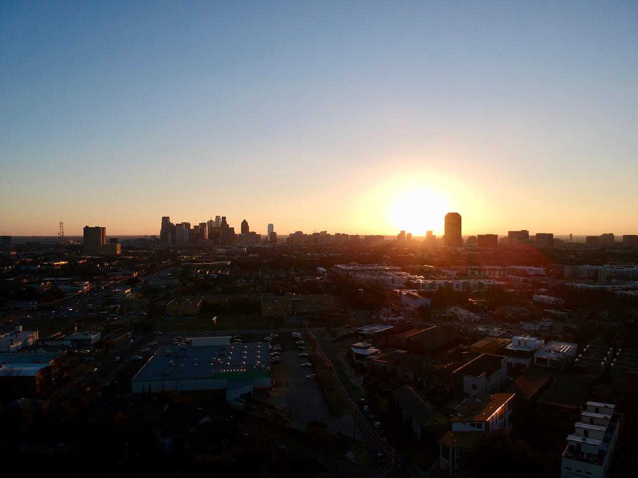 Status: Drone Sunset