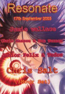 Chris Salt @ Resonate, Manchester 2005