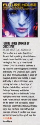 iDJ Mag review of Chris Salt- Future House