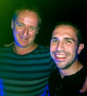 Catching up with Sasha in Ibiza in 2013
