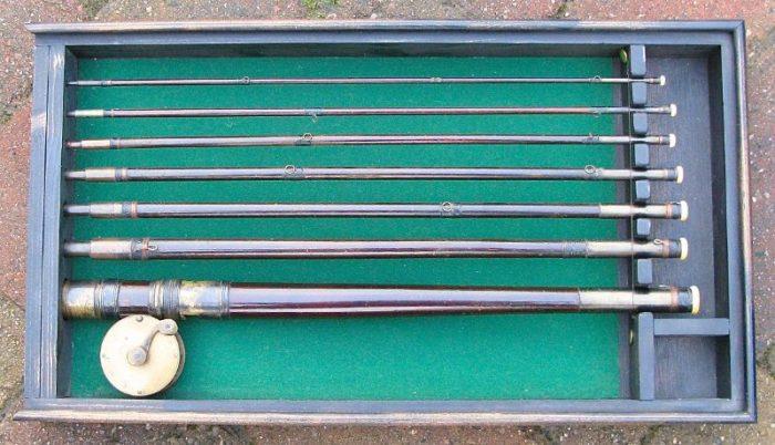 Antique Valise Fishing Rod and Reel - Chris Sandford