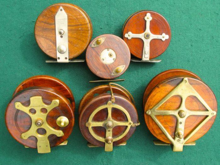 Wooden Fishing Reels - Chris Sandford