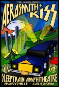 Aerosmith & Kiss poster by Chris Shaw