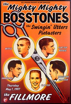 Mighty Mighty Bosstones poster by Chris Shaw