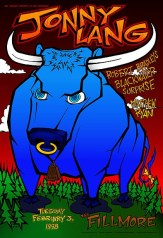 Jonny Lang poster by Chris Shaw