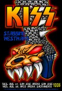 KISS poster by Chris Shaw