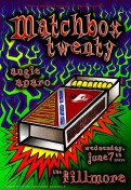 Matchbox Twenty poster by Chris Shaw