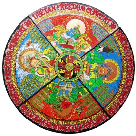 Tibetan Freedom Poster by Chris Shaw, Alan Forbes, Chuck Sperry, Ron Donovan