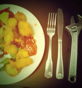 Roadie Silverware - Fork, Knife, Wrench