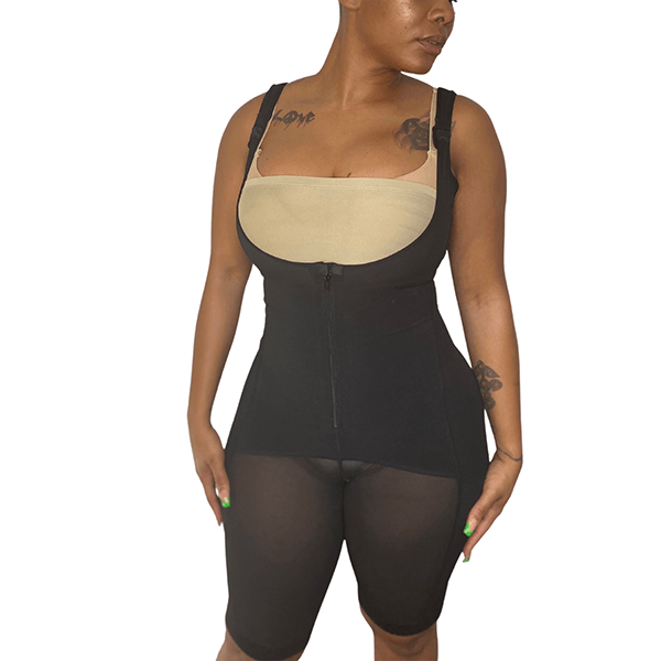 Knee Length Body Shaper Faja