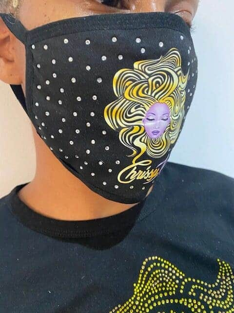 ChrissyKs Logo Mask