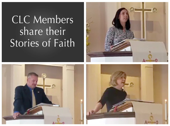 Christ Lutheran Church members share their Stories of Faith