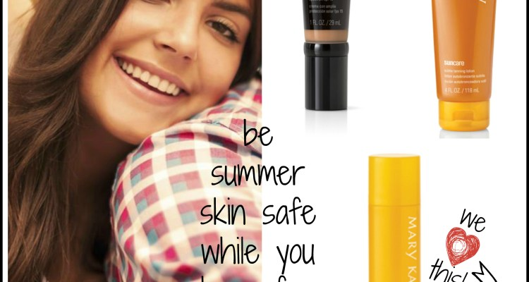 4 Sun Smart Tips for Skin...Summer Skin Safety is Easy