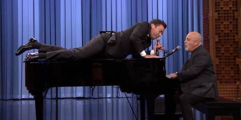 Billy Joel and Jimmy Fallon EPIC Rolling Stones Duet