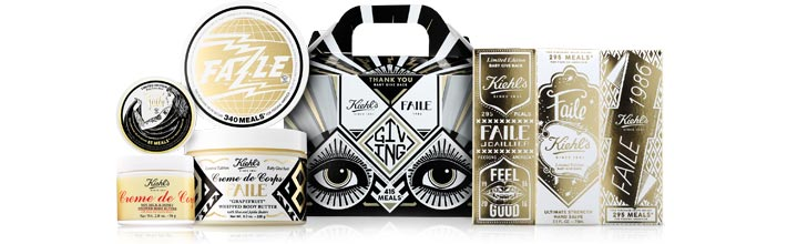 Kiehl's Faile Collection for a Cause - Feeding America