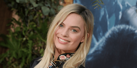 Margot Robbie's hair at the Tarzan Premier