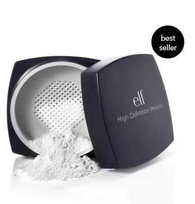 elf cosmetics high definition powder is an editor fave