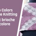 3 patterns in brioche stitch
