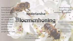 Honingpot etiket door Christan Online