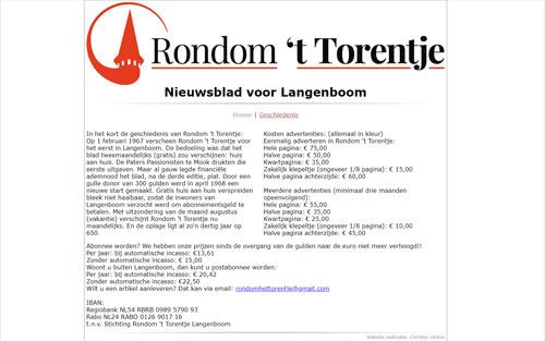 Rondom 't Torentje door Christan Online