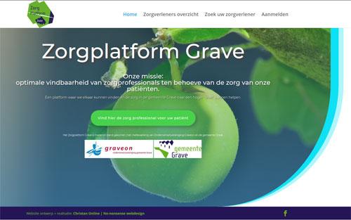 Zorgplatform Grave door Christan Online