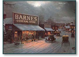 Jesse Barnes Christmas Wish Christ Centered Art