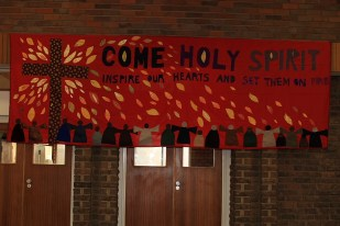 The banner in the Hall