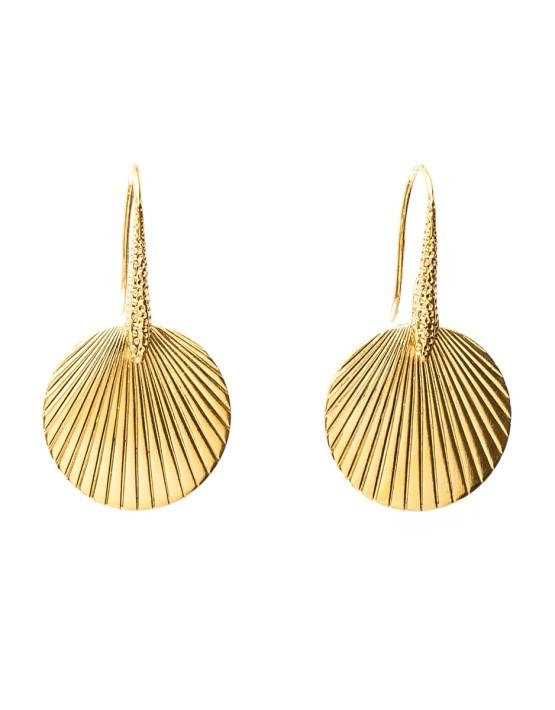 Boucles d'oreilles doré à l'or Petite Cléo