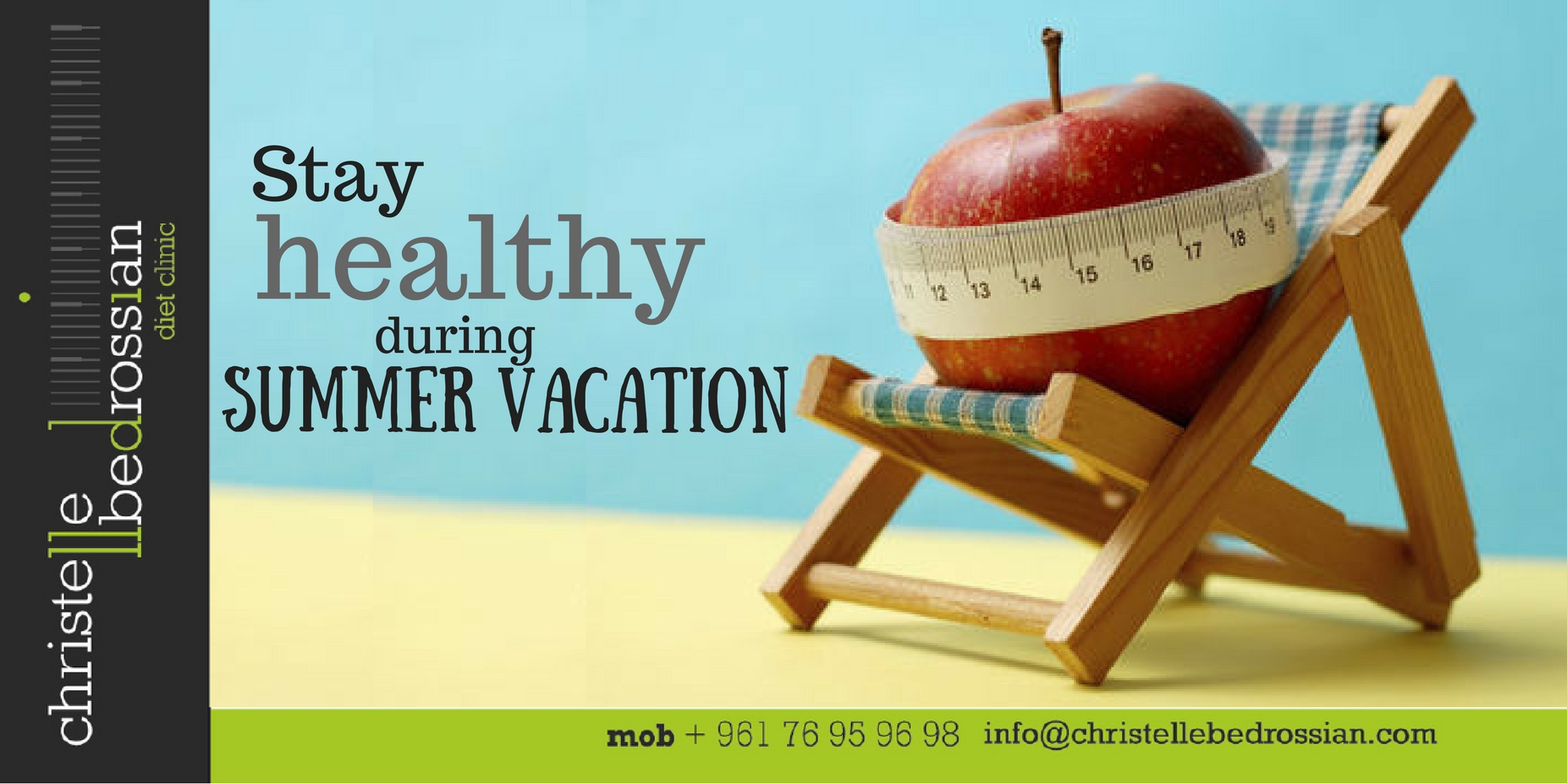 best dietitian lebanon, lebanon, diet, diet clinic, lose weight lebanon, summer vacation
