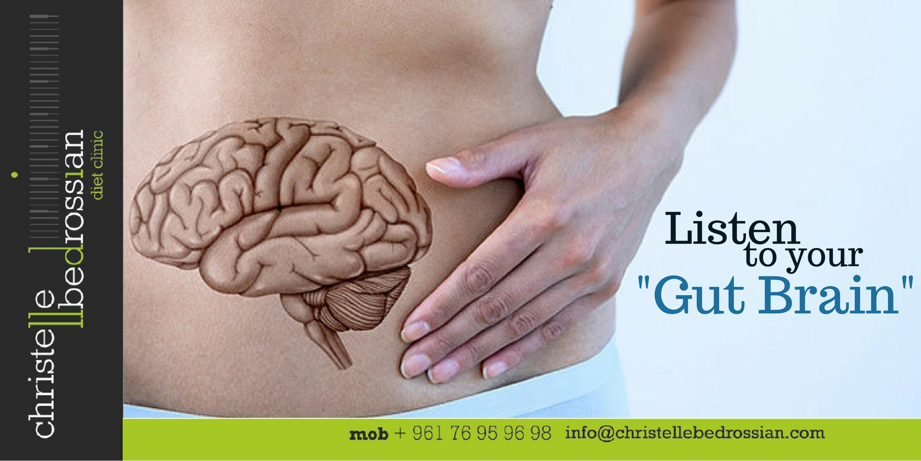 best dietitian lebanon, lebanon, diet, diet clinic, lose weight lebanon, healthy. gut-brain