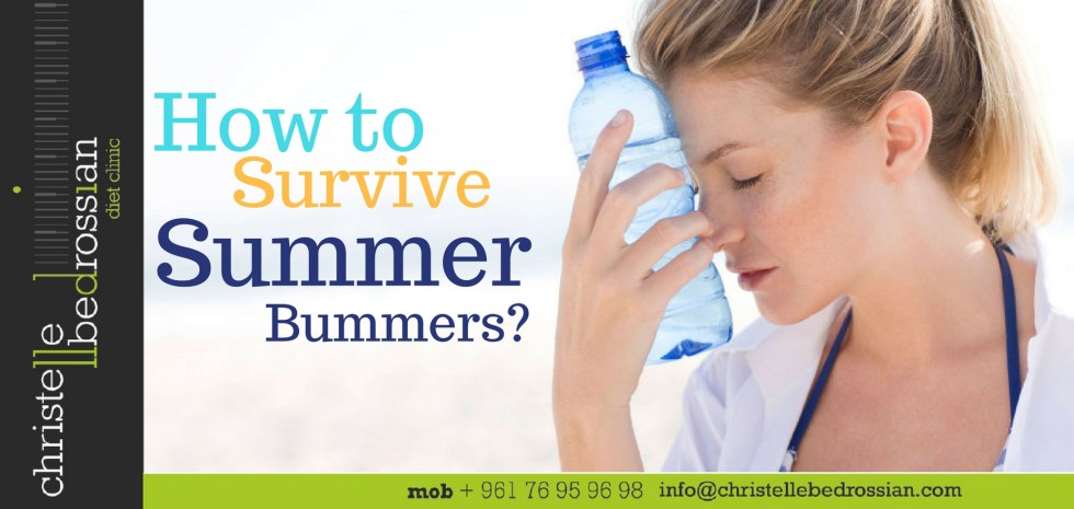 best dietitian lebanon, lebanon, diet, diet clinic, lose weight lebanon, healthy. summer steps , summer bummers, heat stroke