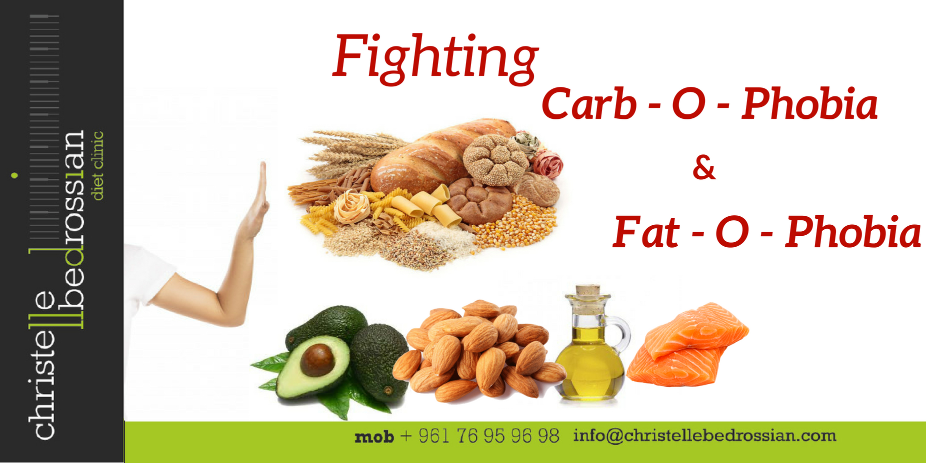 best dietitian lebanon, lebanon, healthy, healthy tips, carbophobia, fatophobia