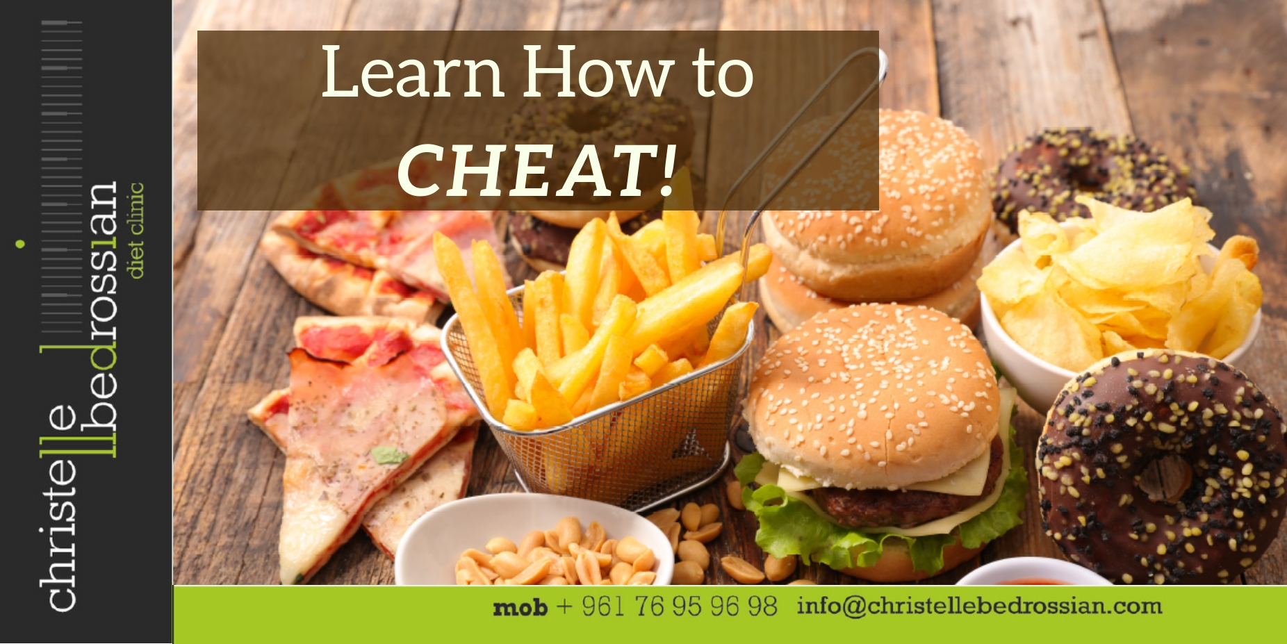 best dietitian lebanon, lebanon, health, healthy tips, cheating, learn how to cheat