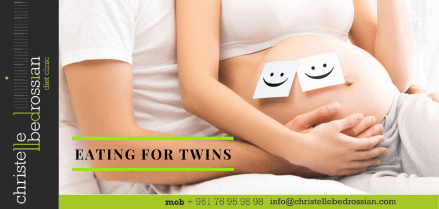 Eating for twins