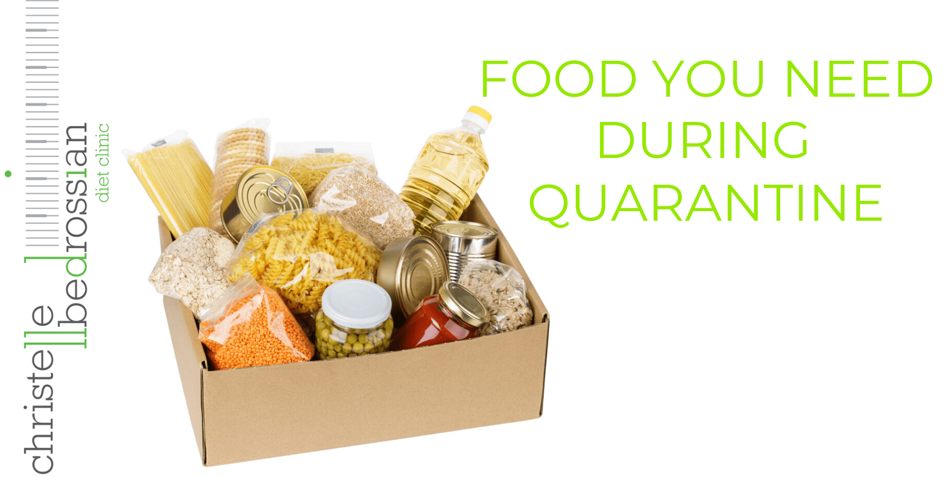 food you need during quarantine