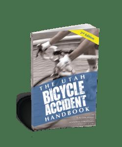 Bike book slightly forward