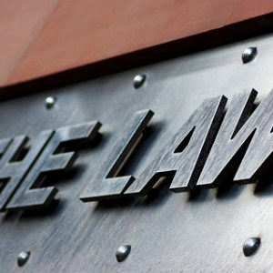 law signage