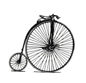 Old Bike_large front wheel