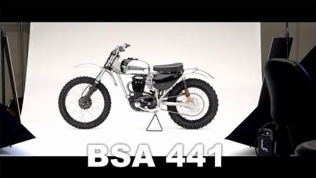 BSA 441 Motocycle